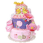 Baby Bird Diaper Cake