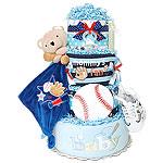 Baseball Sport Diaper Cake