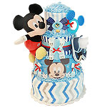 Cute Mickey Mouse Diaper Cake