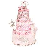 Cinderella Princess Diaper Cake