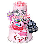 Born To Shop Diaper Cake