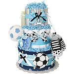 Future Star Soccer Diaper Cake