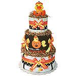 Daddy's Little Pumpkin Diaper Cake