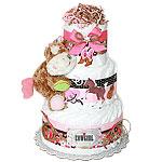 Cowgirl Diaper Cake