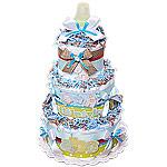 Decoration ABC Diaper Cake