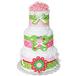 Butterfly Decoration Diaper Cake