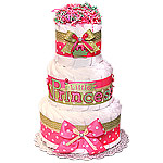 Decoration Little Princess Diaper Cake