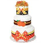 Decoration Pumpkin Diaper Cake