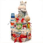 Cute Dinosaur Diaper Cake