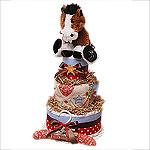 Cowboy Diaper Cake II