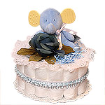 Little Blue Elephant Diaper Cake