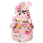 Summer Bugs Diaper Cake