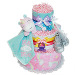 Unicorn Diaper Cake