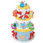 Fun Friends Dinosaurs Diaper Cake
