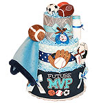 Future MVP Sport Diaper Cake