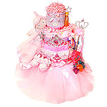 Gems Princess Diaper Cake