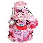 Glamour Baby Diaper Cake