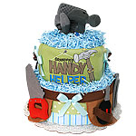 Grandpa's Helper Diaper Cake