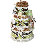 Classic Pooh Neutral Diaper Cake