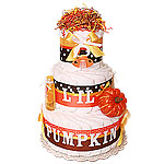 L'il Pumpkin Diaper Cake