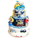 Daddy's Little Helper Diaper Cake