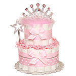 Little Sparkle Princess Diaper Cake