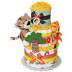 Fun Baby Tiger Diaper Cake