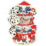 Mommy's Hero Fireman Diaper Cake