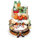 Pumpkin Harvest Diaper Cake