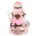 Royalty Princess Diaper Cake