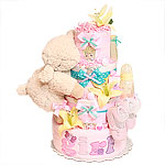 Cloud B Sleep Sheep Diaper Cake