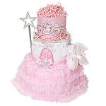 Ballerina Slippers Diaper Cake