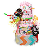 Travel Mexico Diaper Cake