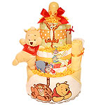 Bath Pooh Diaper Cake
