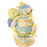 Cute Baby Turtle Diaper Cake