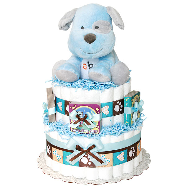 Abc Musical Puppy Diaper Cake 8900 Diaper Cakes Mall Unique