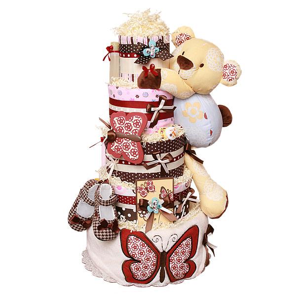 Cocalo Sundae Bear Diaper Cake