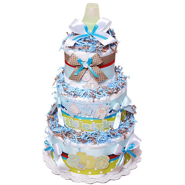 Decoration ABC Diaper Cake