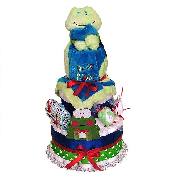 Buddy Froggie Diaper Cake