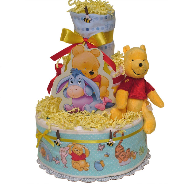 Fun POOH Diaper Cake