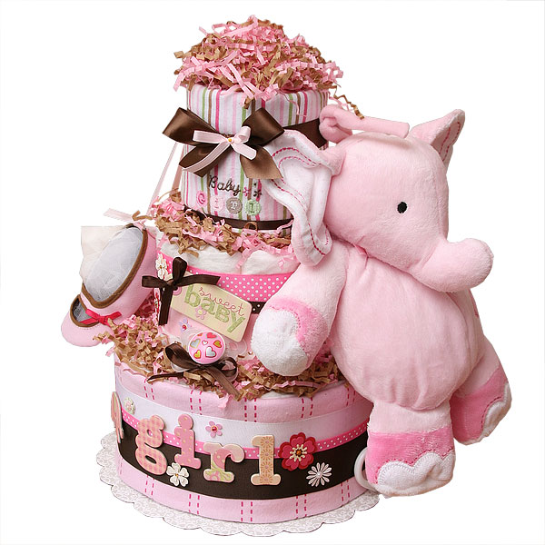 Unique Baby Shower Cakes For A Girl