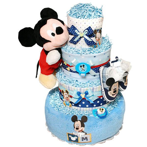 Mickey Mouse Diaper Cake 17800 Diaper Cakes Mall Unique Baby