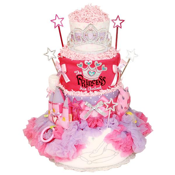 Princess Has Arrived Diaper Cake