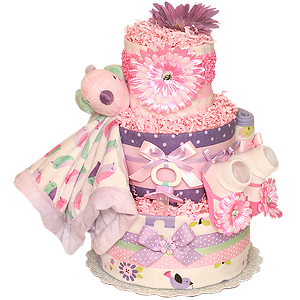 Little Bird Diaper Cake
