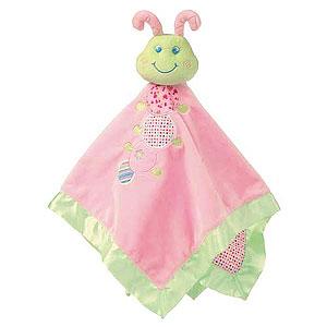Cutsie Caterpillar Baby Blanket