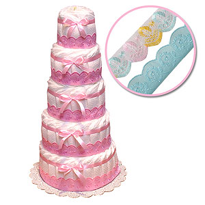 Diaper Cake to Decorate