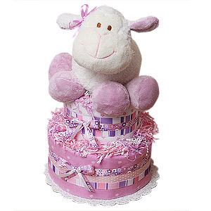 Dream Sheep Diaper Cake