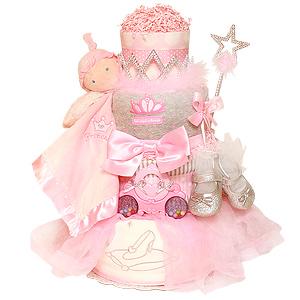 Royal Princess Diaper Cake