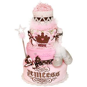 Royalty Princess Diaper Cake